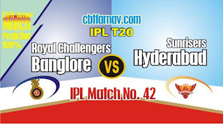 KXIP vs RCB IPL 2019 42nd Match Prediction Today Who Will Win