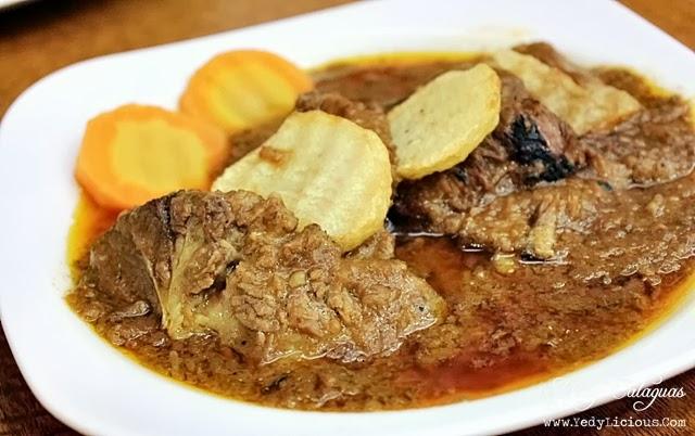 Aristocrat Restaurant Menu - Beef Mechado