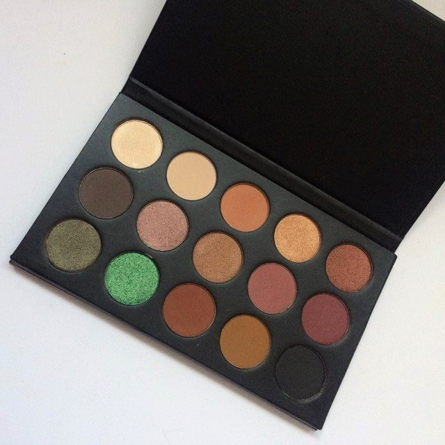 REVIEW & SWATCHES | MORPHE X KATHLEEN LIGHTS PALETTE PHOTOS