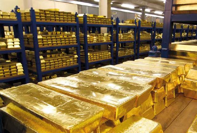 Αλήθεια πού βρίσκεται ο χρυσός της Ελλάδας;  Δεκάδες τόνοι του πολύτιμου εθνικού αποθέματος αγνοούνται