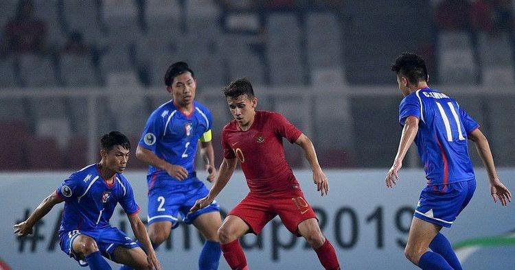 Ini Penyebab Tim nasional U-19 Indonesia Tidak Berhasil Bobol Taiwan Babak Pertama