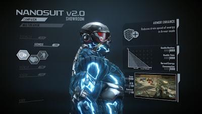 Upgrade Armor Crysis 2