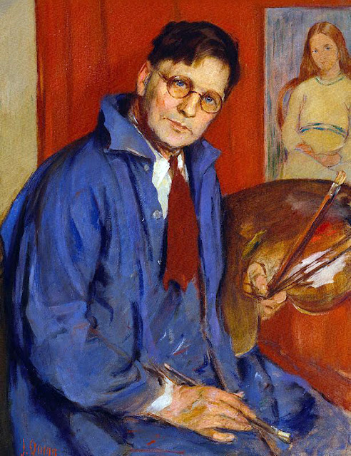 George Bell, Portraits of painters, Self Portrait, George Wesley Bellows