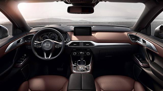 2016 New Mazda CX-9 On Drive Review interior dashboard