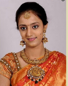 Indian Jewellery and Clothing: Junior NTR wife Lakshmi ...  Davanam