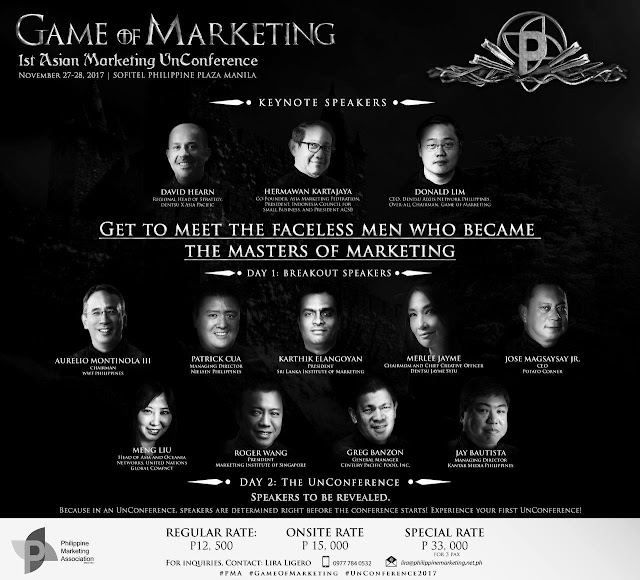 Game of Marketing: An UnConference for the Marketing Throne
