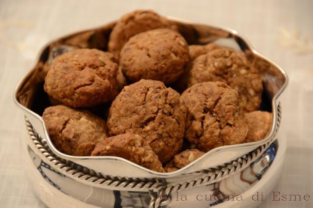 La cucina di esme biscotti alla liquirizia e zucchero di canna muscovado - La cucina di esme ...