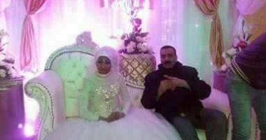 تعرف على العروس التي تداول صورها رواد التواصل الإجتماعي ، وهي ترتدي فستان الفرح دون عريس