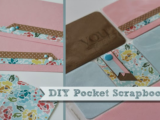 Spring Pocket Scrapbooking Page