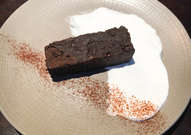 marcus wareing tredwells restaurant virtuous chocolate brownie