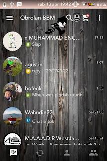 BBM MOD Felix Wood  V2.1.3.0.26 APK