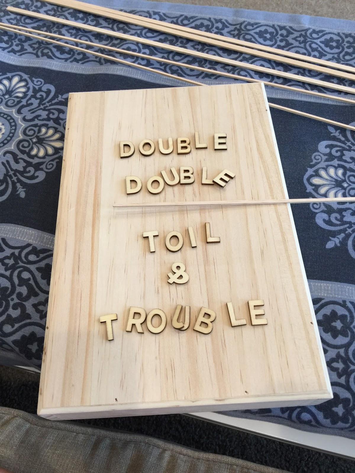 Restlessrisa Diy Wooden Letter Board