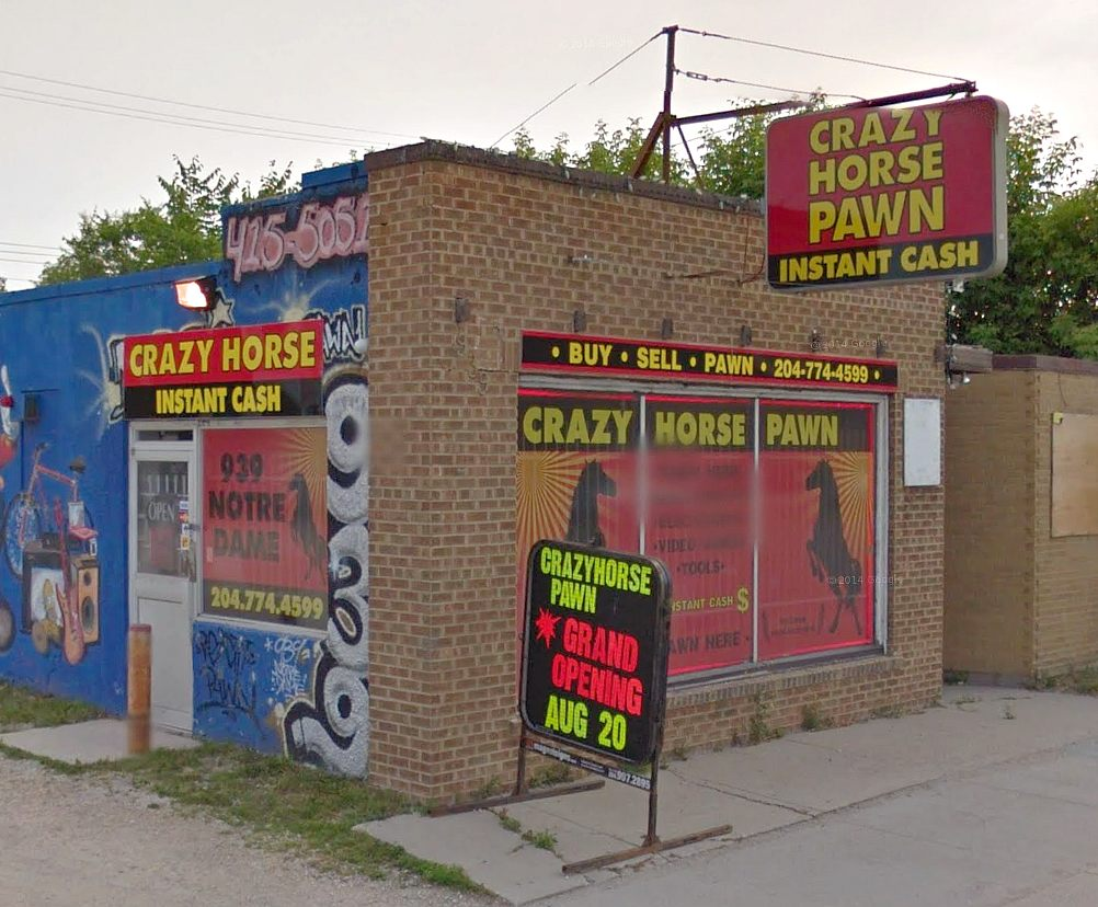Crazy Horse Pawn Shop Winnipeg