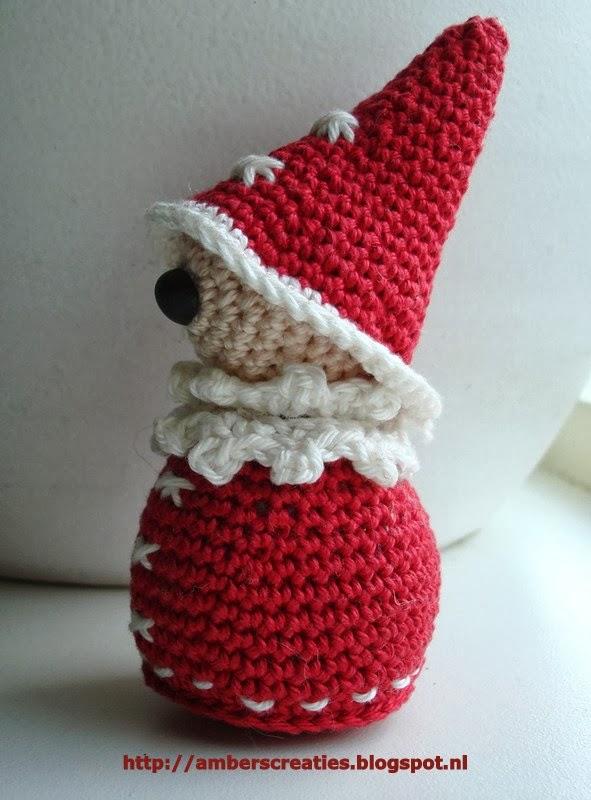 Bit Of Color Patroon 1 Mini Kerstman