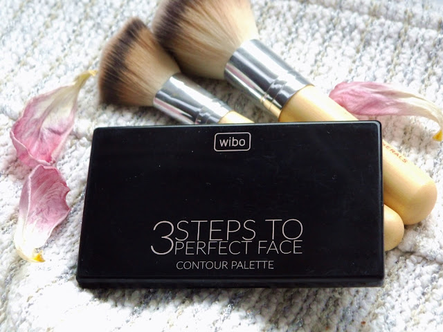 3 STEPS TO PERFECT FACE – CONTOUR PALETTE z wibo