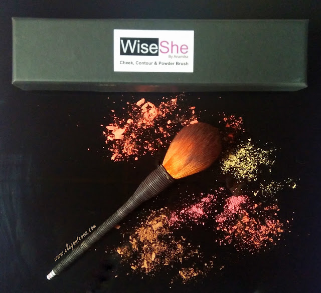 Wise She Cheek, Contour and Powder Brush Review