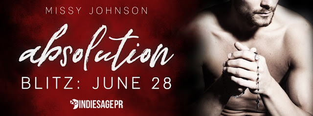 [New Release] ABSOLUTION by Missy Johnson @missycjohnson @IndieSagePR #Giveaway #UBReview