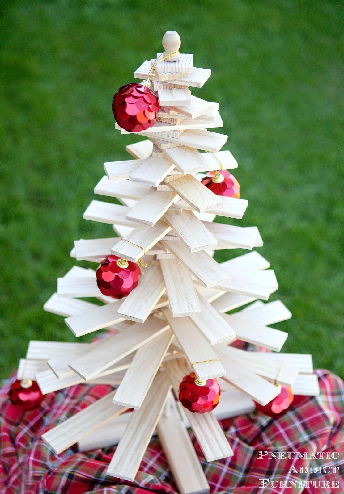 Diy wood slat christmas tree pneumatic addict solutioingenieria Choice Image