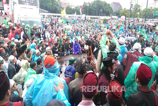 Habib Rizieq Ajak Massa Aksi 212 Membantu Korban Banjir