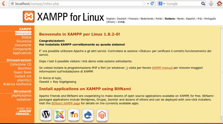 Nova verso do servidor xampp traz atualizaes de softwares novo xampp atualizado para a verso 182 e tem suporte a 64 bits stopboris Gallery