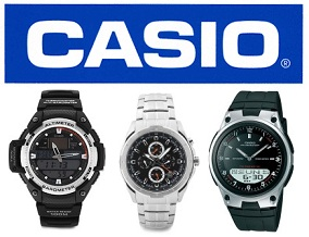 Casio Men's / Women's Watches: Flat 40% Off + 10% Extra off with HDFC Cards @ Flipkart