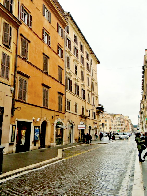 3 days in Rome - Tridente streets