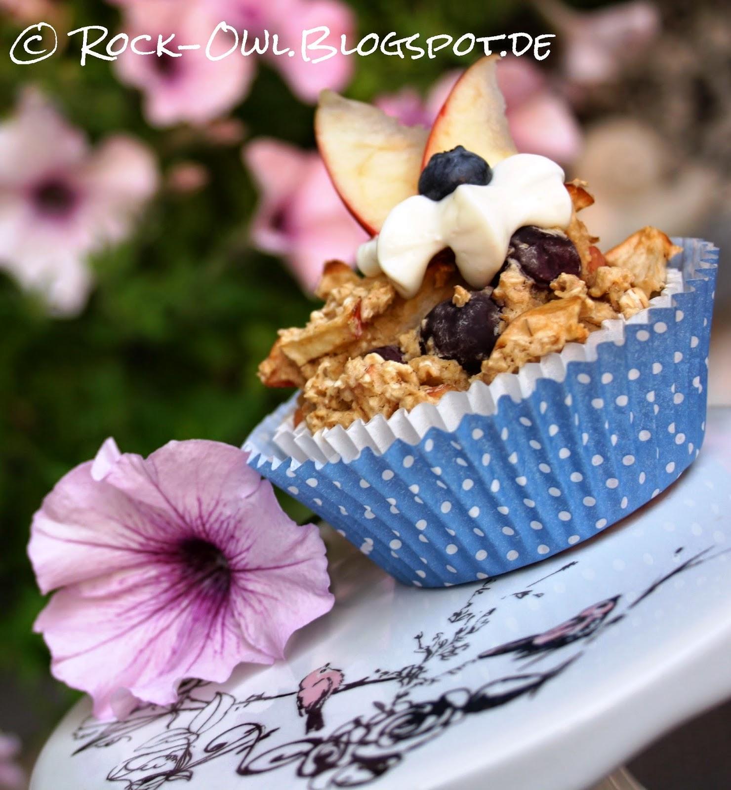 rock and owl blog m sli to go power muffins mit birne und heidelbeere. Black Bedroom Furniture Sets. Home Design Ideas