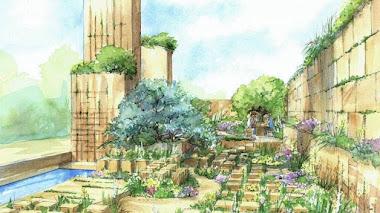 El paisaje de Malta y el jardín de James Basson en Chelsea 2017