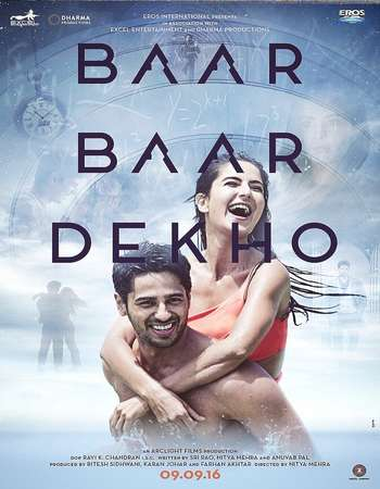 Baar Baar Dekho 2016 Full Hindi Movie DVDRip Free Download
