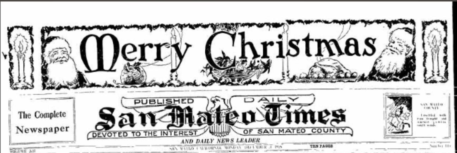 San Mateo County Genealogy Blog: 2018