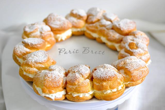 Articole culinare : Paris Brest cu Crema de Vanilie