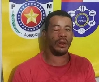 Acusado de tentar assaltar guarda civil é preso em Campo Alegre  (AL)