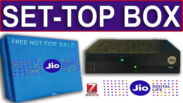 Jio setup box
