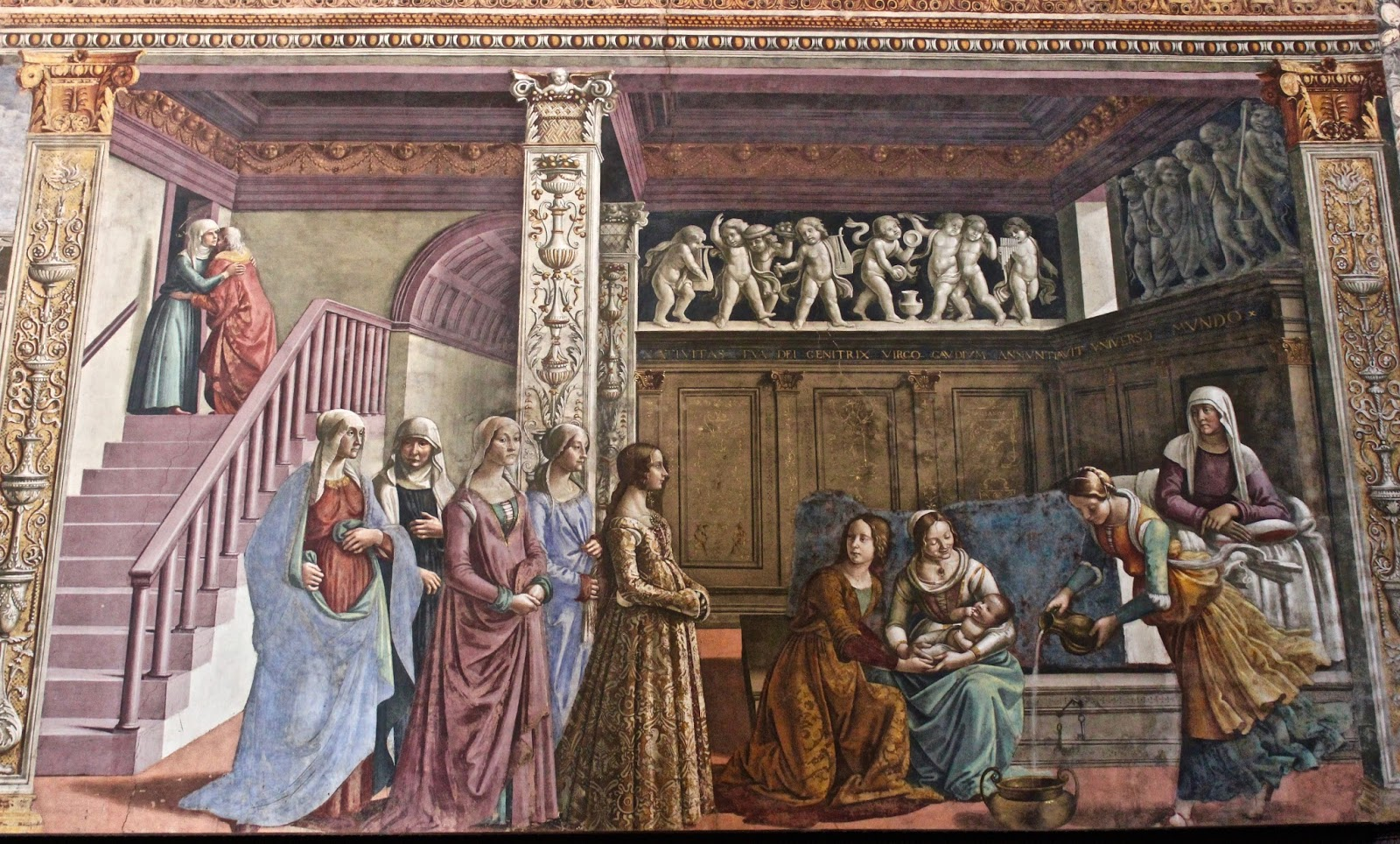 Italian Florence: The Roman Anglican: The Tornabuoni Chapel