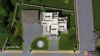 แบบบ้านสองชั้นพร้อมราคาก่อสร้าง