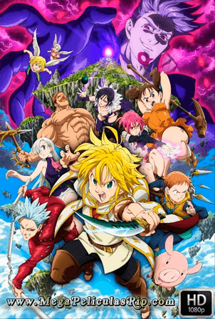 The Seven Deadly Sins The Movie: Prisoners Of The Sky  [1080p] [Latino-Ingles-Japones] [MEGA]