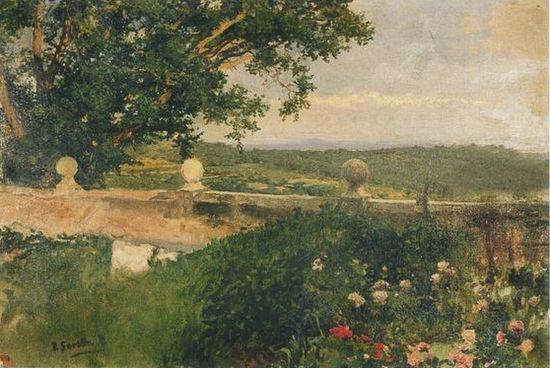 Paisaje de Valencia, 1894