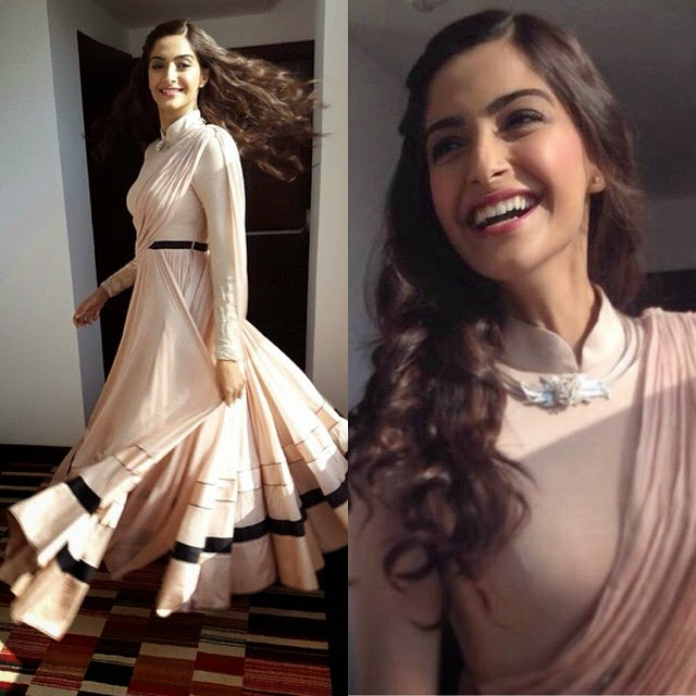 , Sonam kapoor in Chandigarh to promote Dolly ki Doli Movie