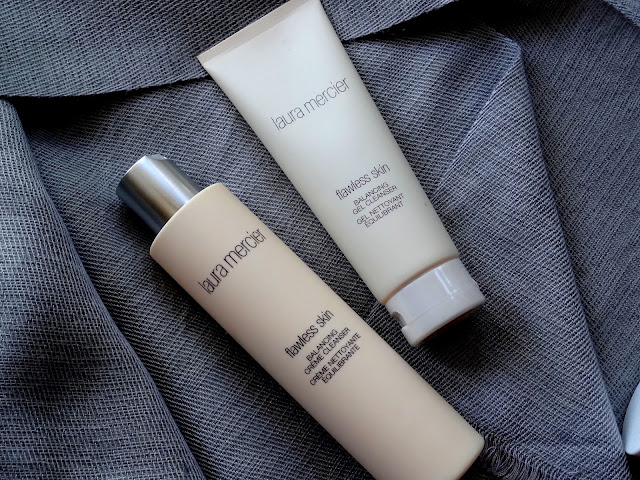 Laura Mercier lawless Skin Balancing Cream and Gel Cleansers