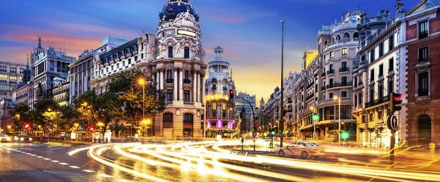Vacaciones en Madrid, España