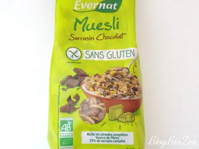 Muesli sarrasin chocolat sans gluten - Evernat