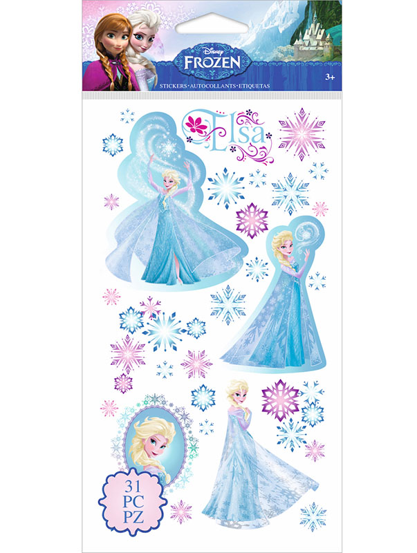 Elza Frozen Stickers