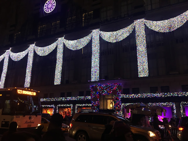 Saks Light Display