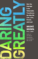 Book cover: Daring Greatly by Brene Brown
