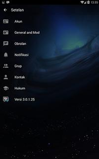 BBM Transparant New Style Base 3.0.1.25 Apk Update Terbaru [Tanpa Iklan]