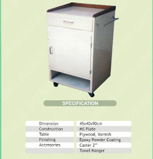 harga bed side cabinet ABS