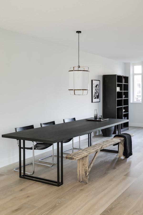 Vosgesparis a stylish home in the netherlands mariska jagt design - Scandinavian kitchen table ...
