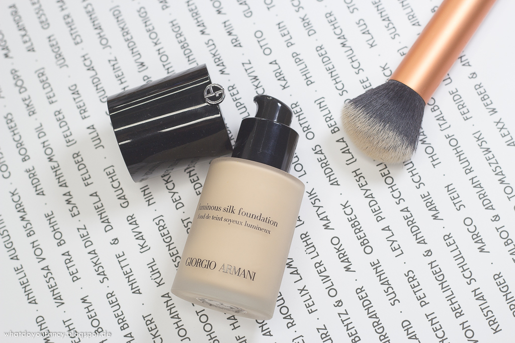Giorgio Armani Luminous Silk Foundation '2'