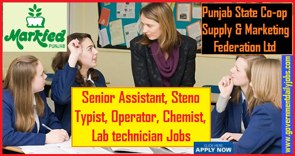 Markfed Punjab Recruitment 2019 Senior Assistant, Steno Typist & other Jobs