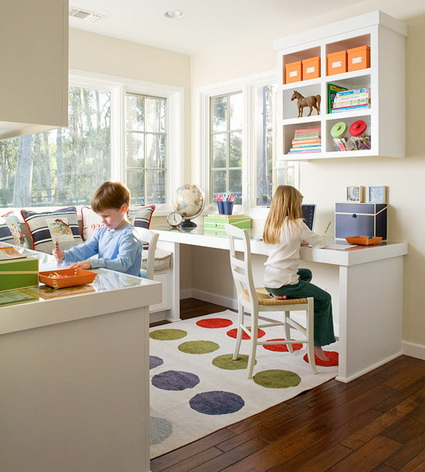 Ideas for children's study areas 5